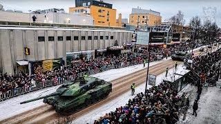 Suomi 100 – Itsenäisyyspäivän paraatin kulissien takana   Finland 100 years – Behind the scenes