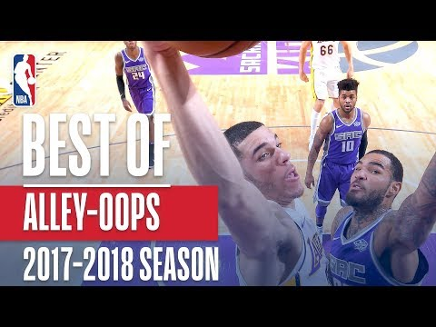 Best Alley-oop Dunks of the 2017-2018 NBA Regular Season