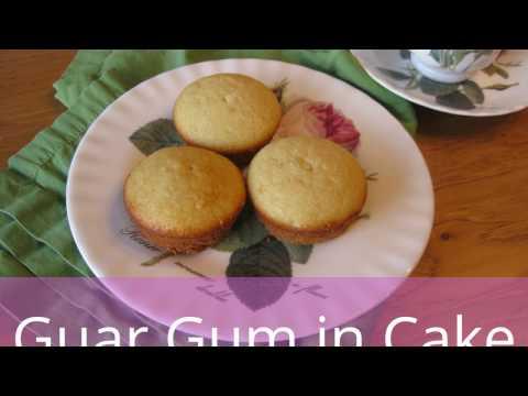 Guar Gum in Gluten-Free Cake