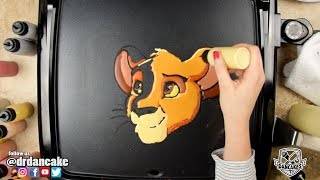 Simba (The Lion King) Pancake Art
