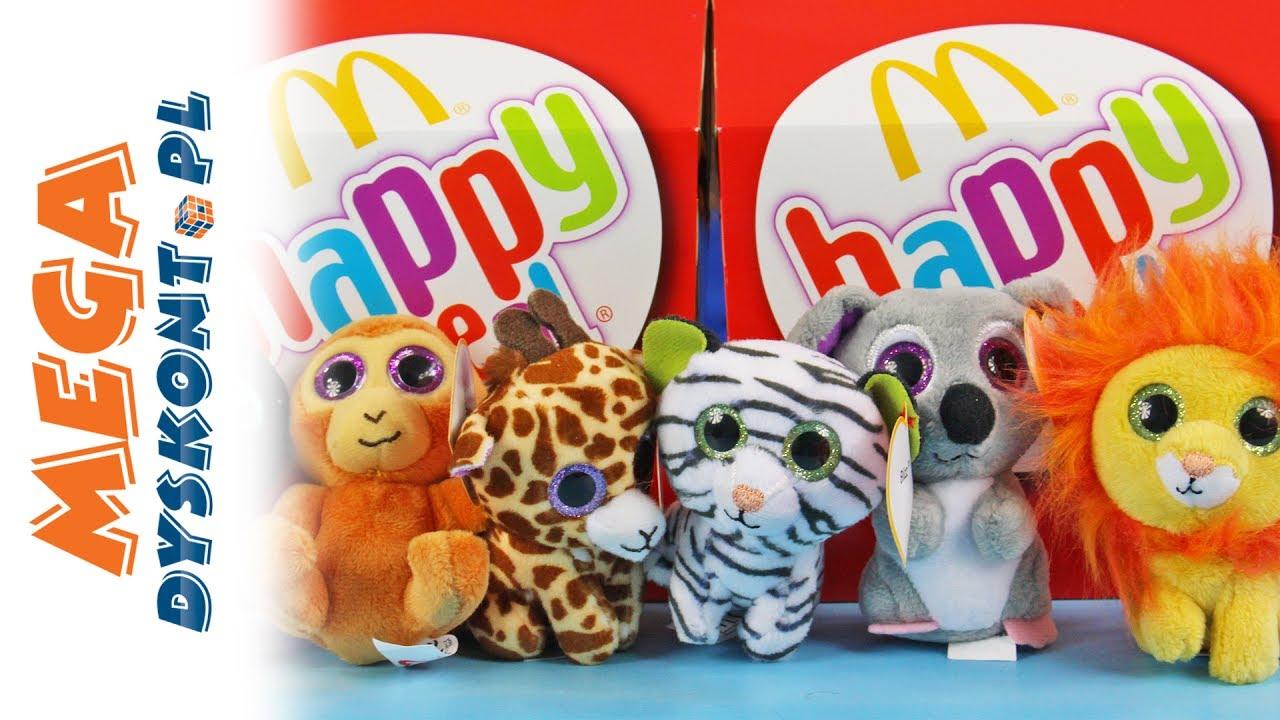 Happy Meal Maskotki Beanie Boos Ty Zabawki Z Mcdonalds
