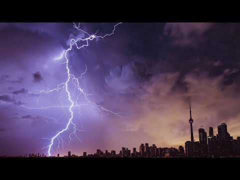 Relaxing Music for Meditation and Sleep with Sounds of Thunder