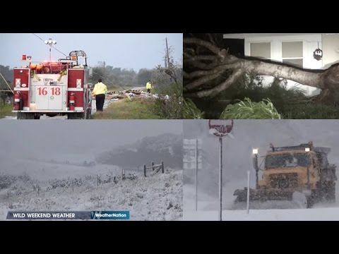 Killer Tornados & Winter Weather