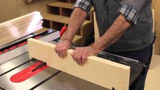 The Down To Earth Woodworker - 5s Shop Wall Cabinet Part 2