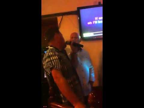Nude men do karaoke