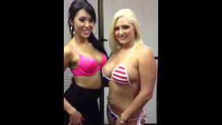 Jayden Lee & Dayna Vandetta hanging with MunkeyBarz!