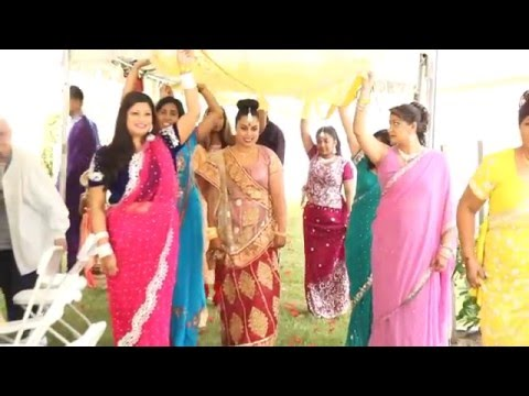 RYAN WEDS DIANA- GUYANESE AND INDIAN WEDDING