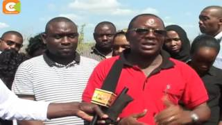 Kilifi county residents seek relief food following biting drought