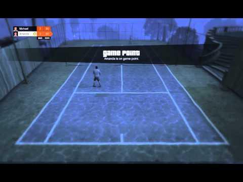 GTA V   Underwater Tennis