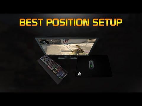Position parfaite pour les gamers youtube