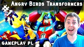 Angry Birds Transformers Po Polsku #5   ŚWINKA TRANSFORMERS!