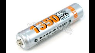Обзор AAA 1350mAh 1.2V Ni-MH Recharge Rechargeable Battery Cell/RC UltraCell