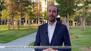 Yvelines | Inauguration de la place Marguerite Perey à Palaiseau