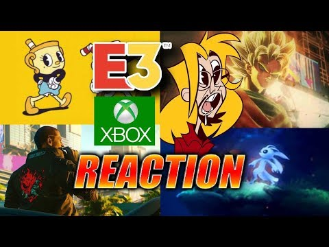 MAX REACTS: Jump Force, Ori 2, CyberPunk2077, CupHead & More - E3 Xbox Roundup