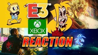 MAX REACTS: Jump Force, Ori 2, CyberPunk2077, CupHead & More - E3 Xbox Roundup
