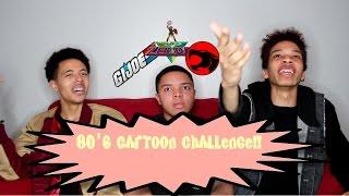 80's Cartoon Trivia Challenge w/BB gun || Marz