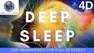 2.5 HZ Delta wave binaural beats   4D audio Use headphones   Deep Sleep