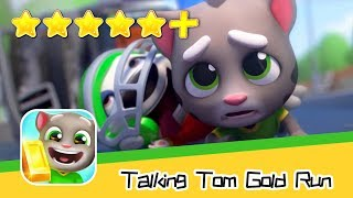 Talking Tom Gold Run - Outfit7 Limited - Day41 Walkthrough Classic Map Recommend index five stars+