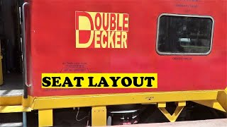 Double Decker Train Seat Layout