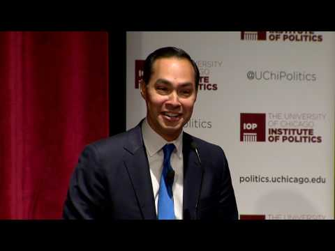 Former Sec. Of Housing and Urban Development Julian Castro