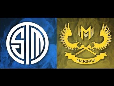TSM (North America) vs Gigabyte Marines (SE Asia) Game 5 Round 2 MSI