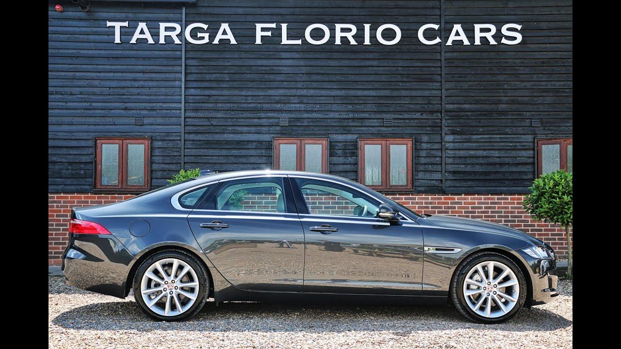 jaguar xf portfolio 20d saloon in storm grey with