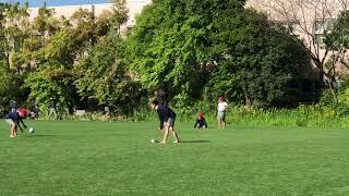 立夏から裸足~なぎさ公園小学校 2018/05/10の朝