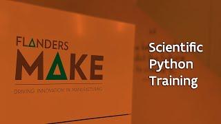Scientific Python @Flanders Make