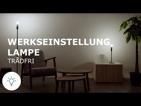 Ikea Tradfri Tradfri Lampe Hinzufugen Youtube