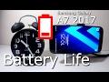 Samsung Galaxy A7 2017 Battery Life Test