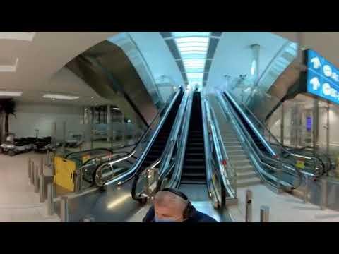 Дубаи360/Путевые Заметки – 360 видео из пустынного заброшенного аэропорта Дубаи, терминал 3