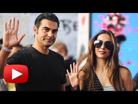 Malaika Arora And Arbaaz Khan SPOTTED Together At Mumbai Airport