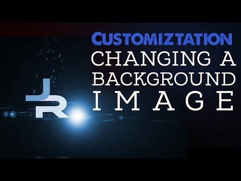 Customization: Changing a Background Image
