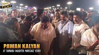 Exclusive Video : Pawan Kalyan at Ambati Rambabu Daughter Marriage - Filmy Focus