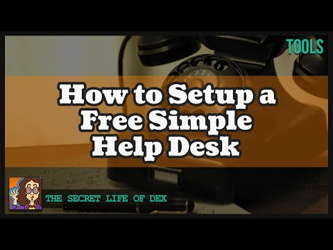 How To Setup A Free Simple Help Desk (osTicket)