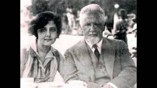 "Bach, ""Double"" Violin Concerto in d minor Mov I (Arnold and Alma Rosé) 1928"