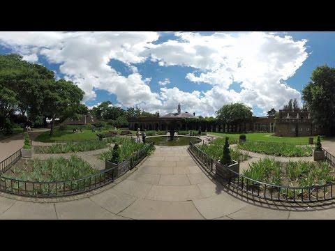Holland Park Tour - West London ( Virtual Reality / 360° )