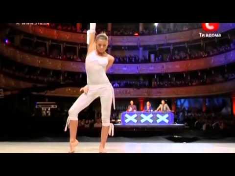 Украина мае талант 2  Киев  Анастасия Крутикова