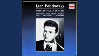 Violin Sonata in A Minor: IV. Allegro ma non troppo