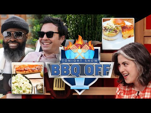 First Annual Tonight Show BBQ Off With Claire Saffitz   The Tonight Show Starring Jimmy Fallon