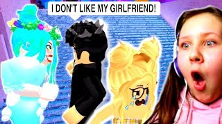 i Caught My New Boyfriend CHEATING!! Roblox Royale High Roleplay