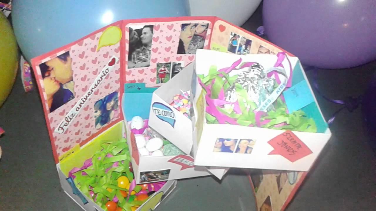 Sorpresa para aniversario regalo san valentin 14 de for Sorpresas para aniversario