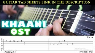KHAANI OST LEAD GUITAR | BY MUSICAL G
