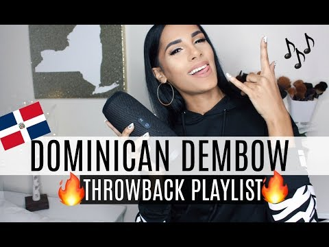 Dominican Dembow THROWBACK PLAYLIST | Sing Along