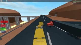 Treno Roblox vs camion e automobili e alcuni Derailments