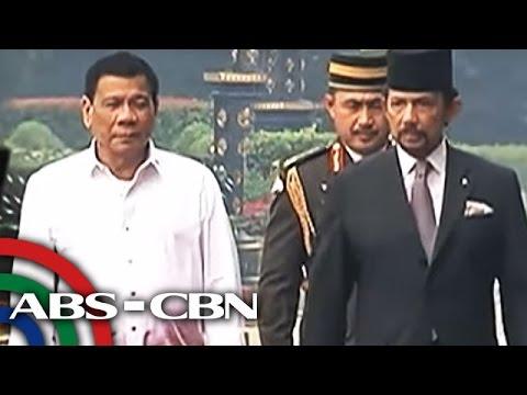 TV Patrol: Duterte, nasa Brunei para sa state visit