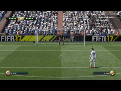 FIFA 17-one of the most longest and stressfull penalty shoot-out