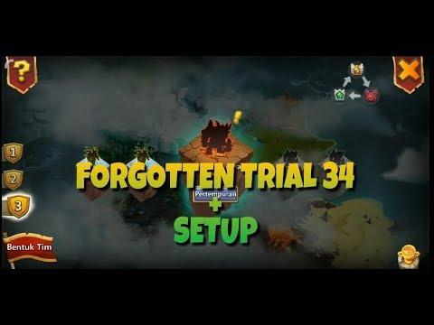 Forgotten Trail 34 + Setup |konflik Kastil | Castle Clash Id