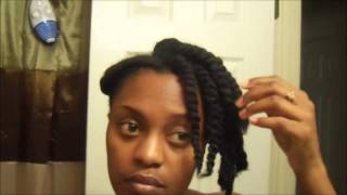 """All twisted up"" (updo) hair tutorial Thumbnail"