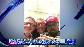 Chance the Rapper, Kim Kardashian come to Kanye`s defense after tweets praising Trump Video